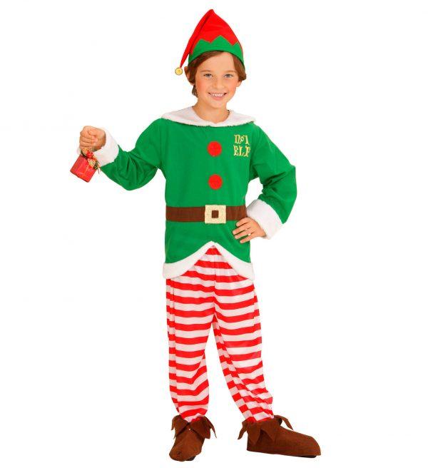 Costum Elf Mos Craciun
