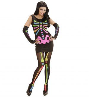 Costum Schelet Neon Femei