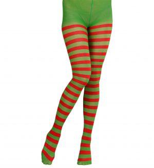 Ciorapi Dungi Verde Rosu Adulti