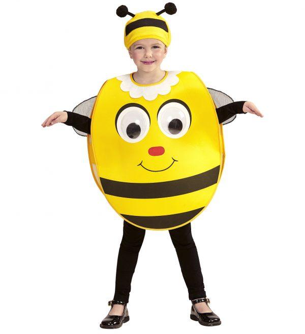Costum Albina Mascota Copii