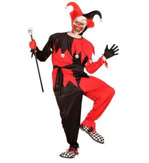 Costum Arlechin Diabolic