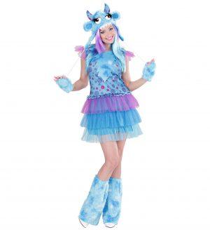 Costum Monstrulet Femei Albastru