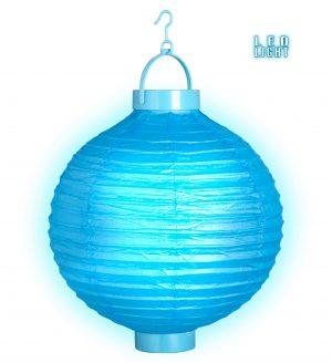 Lampion Luminos Albastru