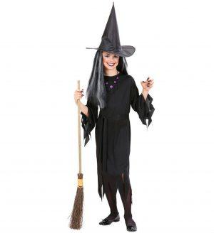 Costum Vrajitoare Copii Halloween