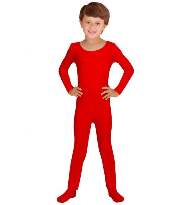 Costum Body Rosu Copil