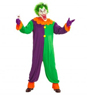 Costum Adult Joker Clown Diabolic
