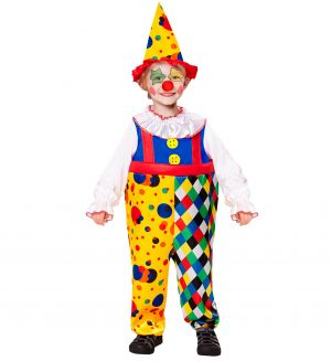 Costum Clown Baiat 4-5 Ani