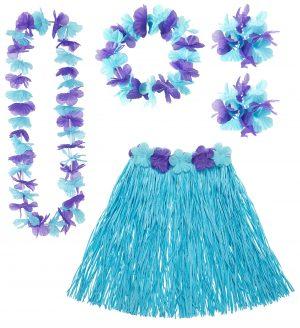 Set Hawaii Albastru
