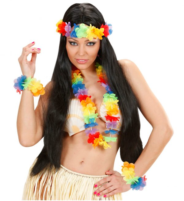 Set Hawaii Flori Multicolore