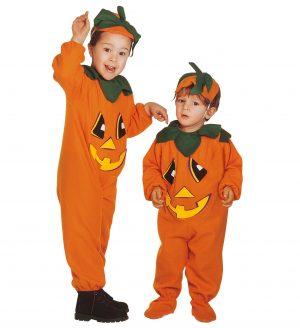 Costum Dovleac Copii Halloween