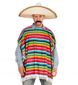 Costum Mexican Poncho