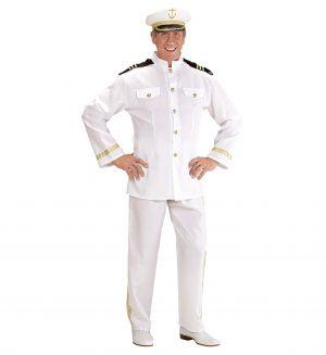Costum Capitan Vas Alb