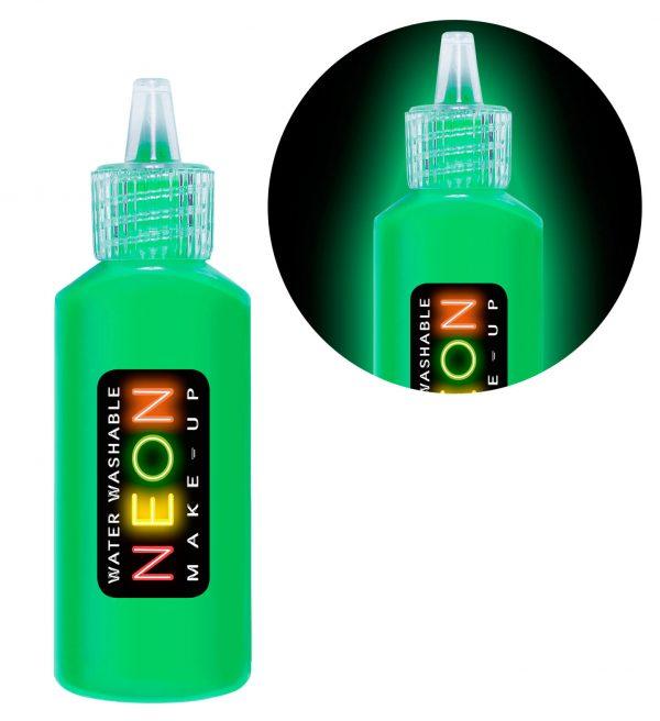 Machiaj Neon Verde