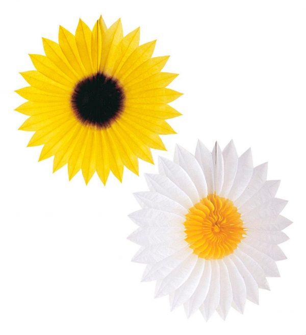 Decor Floare Hartie 2 Modele