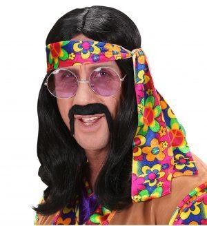 Peruca Hippie Bruneta