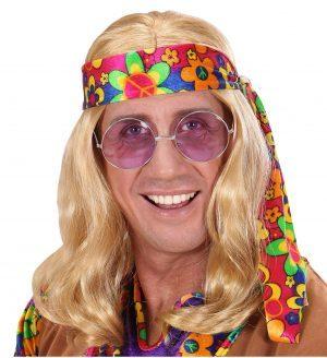 Peruca Hippie Blonda
