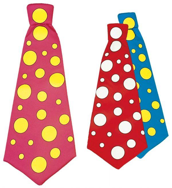 Cravata Clown Maxi