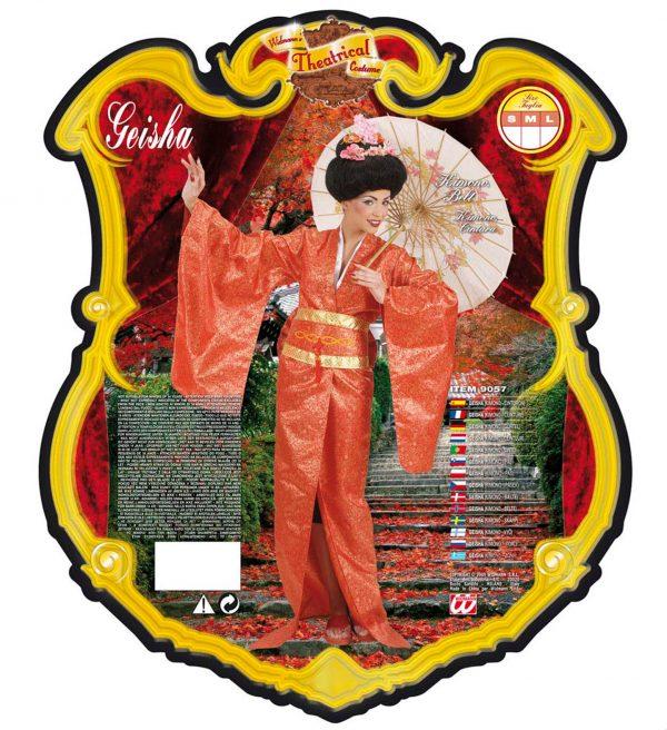 Costum Geisha Deluxe