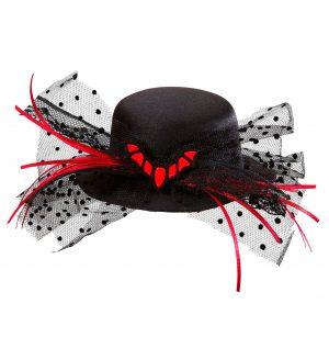 Palarie Mini Halloween Liliac