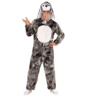 Costum Iepure Gri Adulti