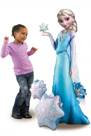 Balon Airwalker Frozen Elsa
