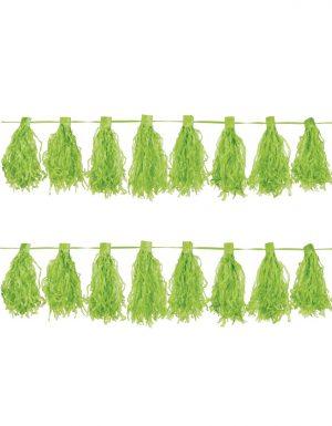 Ghirlanda Tassel 3M Verde