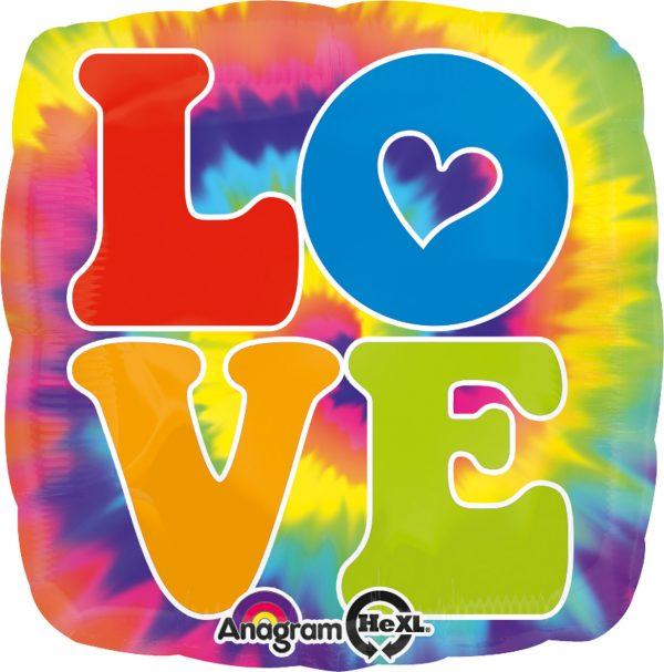 Balon Hippie Love