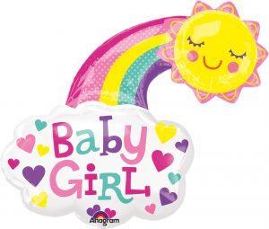 Balon Folie Baby Girl