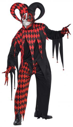 Costum Arlechin Diabolic Masculin