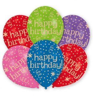 Baloane Latex Happy Birthday