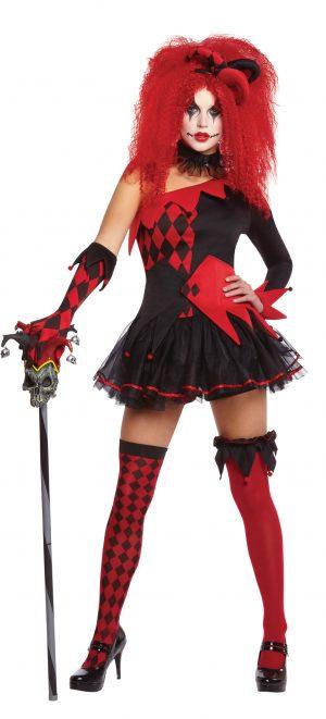 Costum Arlechin Diabolic Feminin