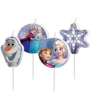 Lumanari Frozen 4 Buc