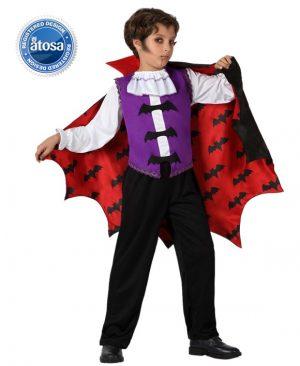 Costum Copil Vampir Vintage