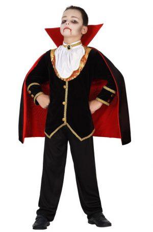Costum Copil Vampir Deluxe