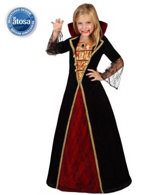 Costum Copil Vampirita Vintage 8 10 Ani