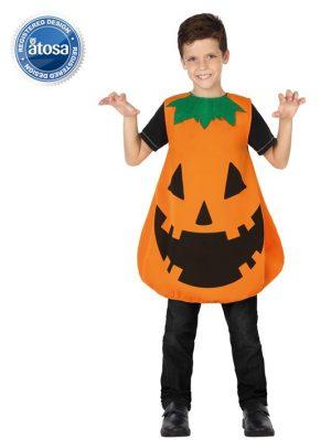 Costum Dovleac Halloween Copii