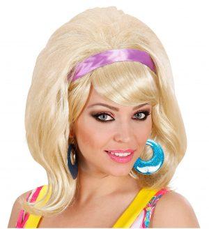 Peruca Anii 60 Blonda