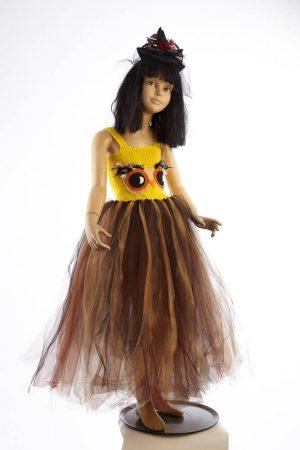 Costum Bufnita Fusta Lunga
