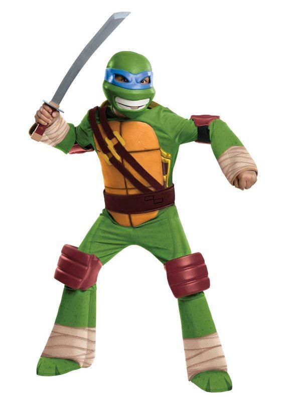 Costum Testoasele Ninja Leonardo