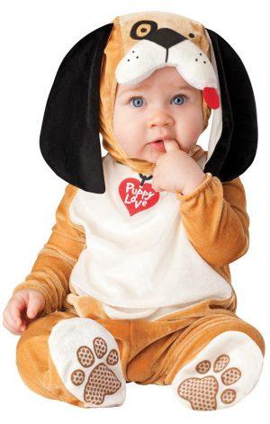 Costum Bebe Catelus Adorabil
