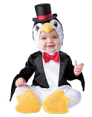 Costum Bebe Pinguin