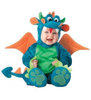 Costum Bebe Dragon Dragalas