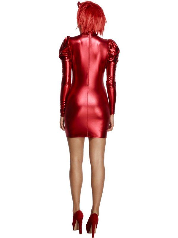 Costum Diavolita Sexy Rosu