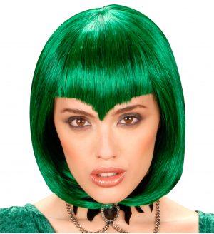 Peruca Gotica Verde