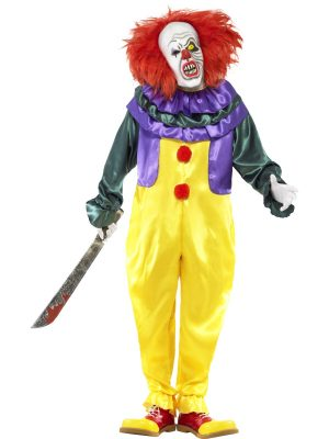 Costum Clown Horror Film IT