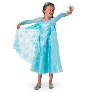 Costum Elsa Frozen Disney 3-4 Ani