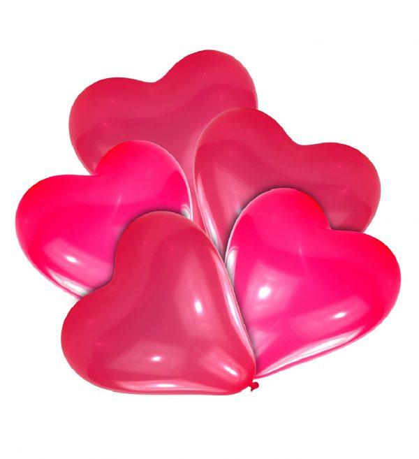 Baloane Latex Inimi 10 Buc