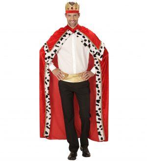 Costum Rege Mag Pelerina Si Coroana