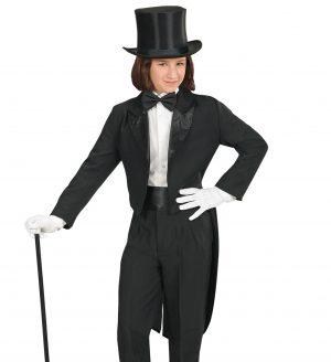Costum Frac Negru Copii