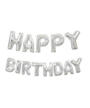 Baloane Folie Ghirlanda Happy Birthday
